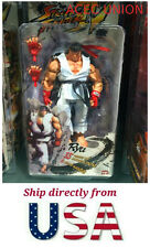 U.S.A. SELLER - NECA White Ryu 7'' Action Figure Toy Street Fighter IV