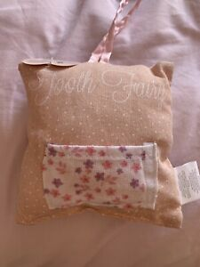 Tooth Fairy Pillow - Pink - Brand new with tag