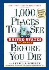 1,000 Places to See in the United States and Canada Before You Die-ExLibrary