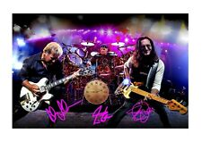 Rush 1 A4 reproduction autograph photograph poster with choice of frame