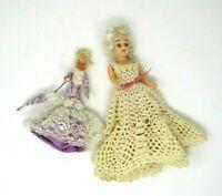 Vintage Dolls Sleep Eyes Mid Century made in Italy