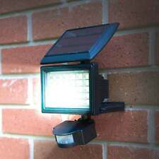 Solar Security Light 30 Super Bright LEDs PIR Motion Sensor No Wiring Adjustable