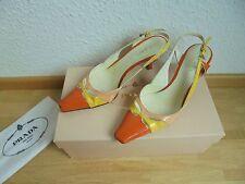 Sehr schöne Prada Lackleder Nude Pumps NP 400€ Sandalen Schuhe Gr. 35 35,5 36