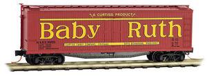 NIB Z MTL #51800400 40' Wood Reefer Nestle Baby Ruth Series #8 #NADX6266