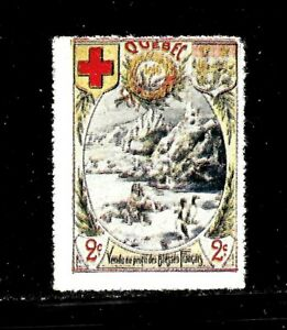 HICK GIRL- BEAUTIFUL MINT CANADA STAMP   QUEBEC   RED CROSS ISSUE      D1119
