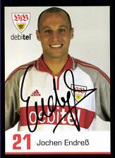 Jochen Endreß Autogrammkarte VFB Stuttgart 2000-01 Original Signiert+A 117049