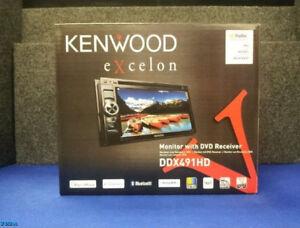 NEW KENWOOD EXCELON DDX491HD 2-DIN / BLUETOOTH / HD RADIO / DVD / CD / PANDORA