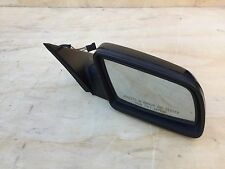 142# BMW E60 550I 535I RIGHT DOOR AUTO FOLD MIRROR GLASS WITH LANE ASSIST OEM