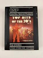 TOP HITS OF THE 70's  Vol. V  8 Track Tape Meatloaf Emotions Simon & Garfunkel