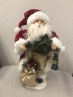 Vintage Santa Claus, Christimas Decoration, 18 Inches Tall, VERY NICE! EXCELLENT
