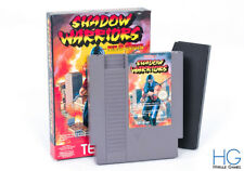 Shadow Warriors: Ninja Gaiden Boxed - Nintendo NES Game Cartridge PAL