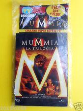 box 3 dvd film la mummia,la trilogia il ritorno,la tomba dell'imperatore dragone