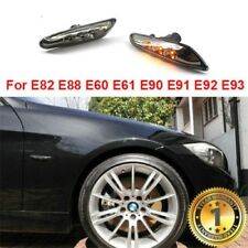 LED Fender Turn signal Side Marker Light For Bulbs BMW E60 E61 E82 E83 E90 E91