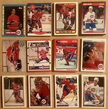 Lot of 300 Montreal Canadiens Cards- Roy,Smith,Bellows,Leclair etc..  ++ RC also