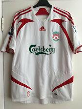 Adidas Liverpool Torres Away Shirt 2007-2008 / Medium