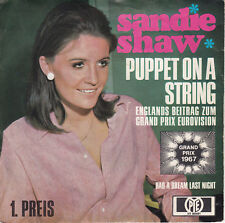 Sandie Shaw - Puppet On A String/Had A Dream Last Night PYE HT 300081 (1967)
