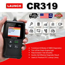 Check Engine Light OBD2 Scanner Car Fault Code Reader Clear EOBD Diagnostic Tool