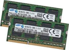 Samsung 16Gb 2x 8Gb DDR3L Ram Speicher 1600 MHz Notebook SoDimm 204pin Pc3-12800