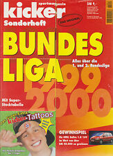 Kicker Sonderheft Bundesliga 1999/2000