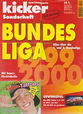 Kicker Sonderheft Bundesliga 1999/2000