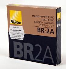Nikon BR-2A 52mm Reversing Adapter Ring - New