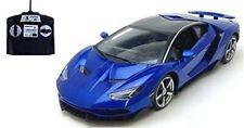 Happinet 1/14 RC Car Lamborghini Centenario Blue Number 27MHz 490795381448