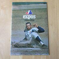 MONTREAL EXPOS 1971 program magazine vol 3 no 2  Ron Hunt  vs San Diego Padres
