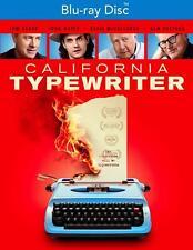 NEW & FACTORY SEALED: California Typewriter (Blu-Ray Disc, 2017, NR) Tom Hanks