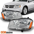 Fit 2008-2014 Dodge Avenger Replacement Headlights Headlamps L+R 2009 2010  for sale