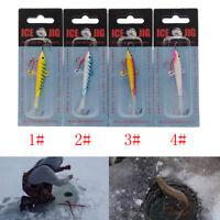 1X18g 83mm Leurres de pêche Ice Jig Métal Appâts artificiels En Plastique AttLTA
