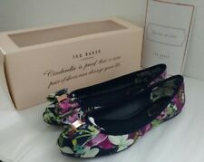 7201ead9cd1351 Ted Baker Immep Ballet Flat Entangled Enchantment - Cascading Floral Sz 6.5