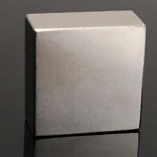 HR- 1X 40X40X20MM N52 SUPER STRONG CUBOID BLOCKS RARE EARTH NEODYMIUM MAGNETS FA