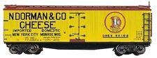 Blueprint Series Train kit 40' ACF/URTX Wood Reefer N. Dorman Co  1344