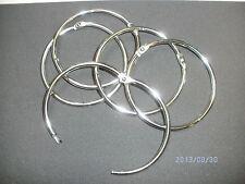 Heftringe aus Metall, vernickelt 74 mm Durchmesser, 5 St