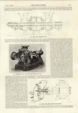 1914 Centrifugal Pump For Semi-viscous Fluids Colliery Shaft Signal Indicators