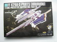 Advance of Z AOZ Gundam Hazel G-Parts HRUDUDU Supporting Fighter LTD Model Kit