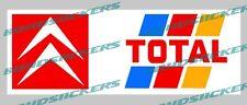 Vinilo de corte Pegatina TOTAL CITROEN sport rally sticker decal
