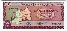 Rwanda 100 Francs 1964 *UNC* P-8a Banknote - k172