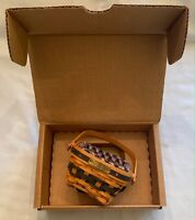 Longaberger Collectors Club J.W. Miniature Berry Basket Set 2001-2002 FREE SHIP