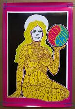 Original Vintage Poster 1967 Joint Show Psychedelic Woman We Wilson 1960's Pinup