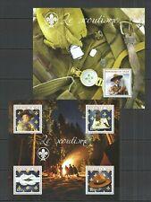 ST2750 2014 NIGER SCOUTING NATURE BOY SCOUTS LE SCOUTISME 1KB+BL MNH