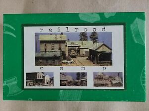 SIERRA WEST  RAILROAD CAMP 204AE Out of Production -MIB