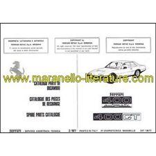 1977 Ferrari 400 Automatic + 400 GT spare parts catalogue 139/77 PDF (it/fr/uk)