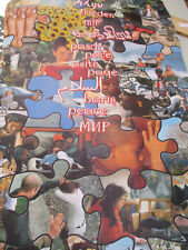 Peace Poster Anti-War Multiple Languages Amnesty International Children