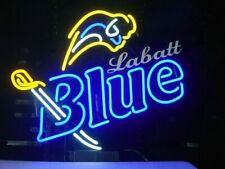 """New Labatts Blue Sabres Beer Bar Cub Party Light Lamp Decor Neon Sign 17""""x14"""""""