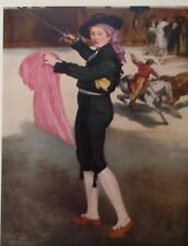 Mlle. Victorie in the Costume of an Espada(MINI PRINT) By Edouard Manet