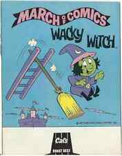 March Of Comics 459 Wacky Witch Rare Giveaway Promo F+ Promotional 1979