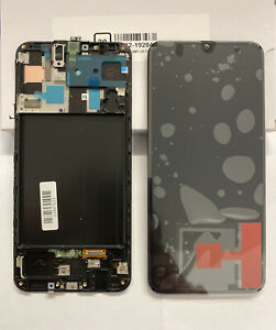 Genuine SAMSUNG GALAXY A50 A505F LCD TOUCH DISPLAY SCREEN - Black Service Pack