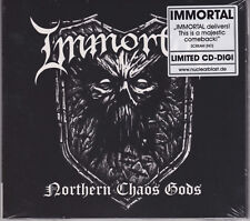 IMMORTAL 2018 CD - Northern Chaos Gods (Ltd. Digi.) Abbath/Demonaz/Mayhem - NEW