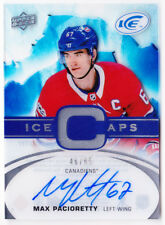 17-18 UD Ice Max Pacioretty /65 Auto ICE CAPS Canadiens 2017